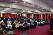 د سولې او په هند کې د وروستیو بدلونو په اړه د مجمع تنسیق علمای افغانستان مطبوعاتي کنفرانس