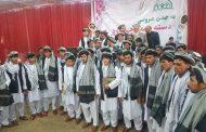 محفل عروسی دستهجمعی ۴۰ زوج توسط جمعیت اصلاح بلخ و نهاد اجتماعی وحدت مردمی بلخ برگزار گردید