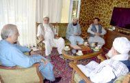 هیئت رهبری جمعیت اصلاح با دکتور عبدالله عبدالله دیدار نمود